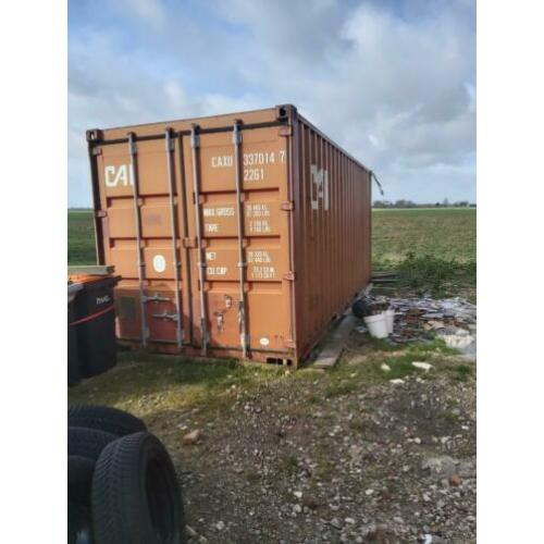 2x zee container 20 ft